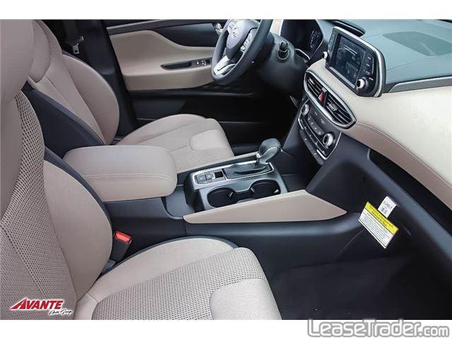 2019 Hyundai Santa Fe SE SUV Interior
