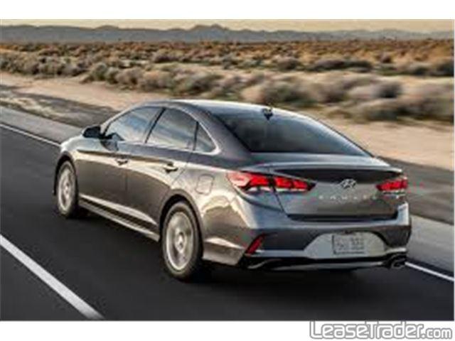 2019 Hyundai Sonata SE Sedan Rear