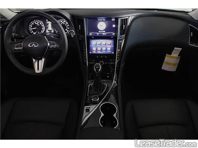 2019 Infiniti Q50 3.0t Luxe Dashboard