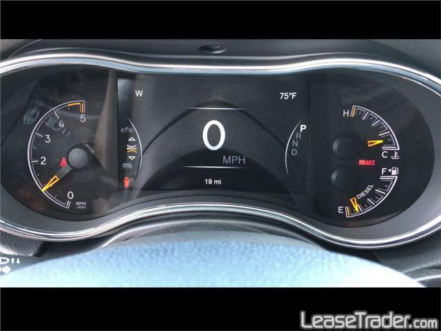 2019 Jeep Grand Cherokee LIMITED Dashboard