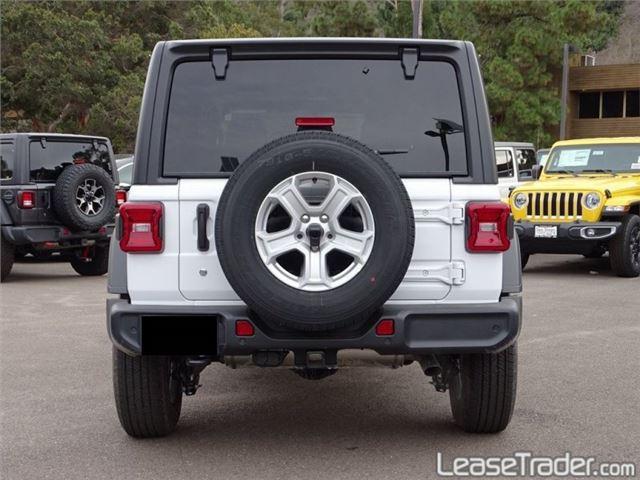 2019 Jeep Wrangler Sport Rear