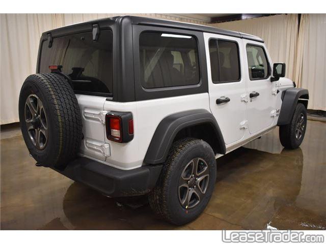 2019 Jeep Wrangler Unlimited Sport Rear