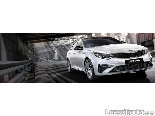2019 Kia Optima LX Sedan Front