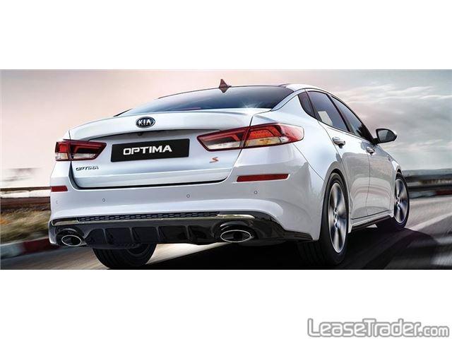 2019 Kia Optima S Sedan Rear