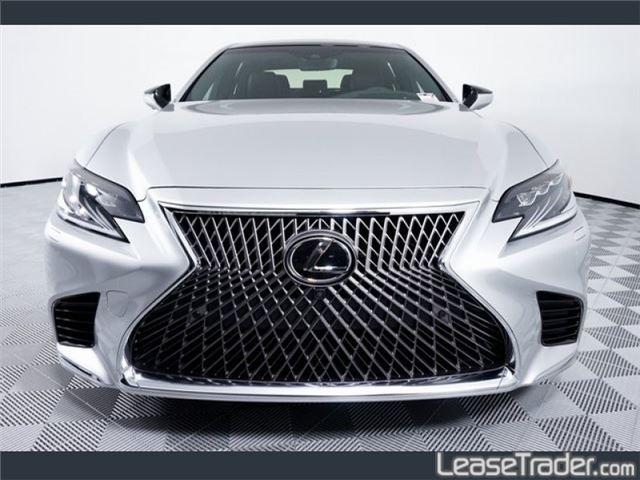 2019 Lexus LS 500 Rear