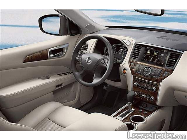 2019 Nissan Pathfinder S Interior