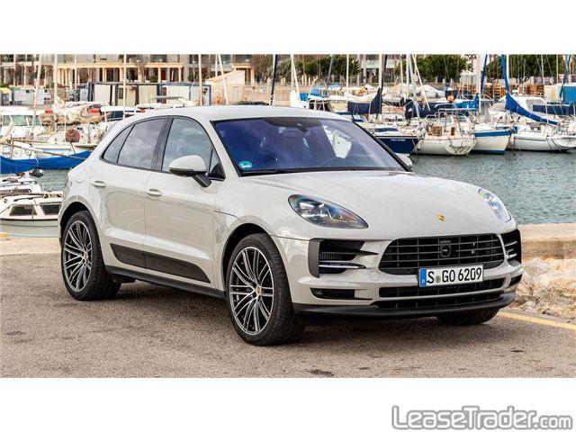2019 Porsche Macan SUV Dashboard