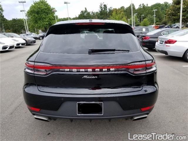 2019 Porsche Macan SUV Rear