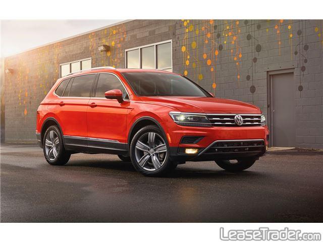 2019 Volkswagen Tiguan 2.0T TSI S Front