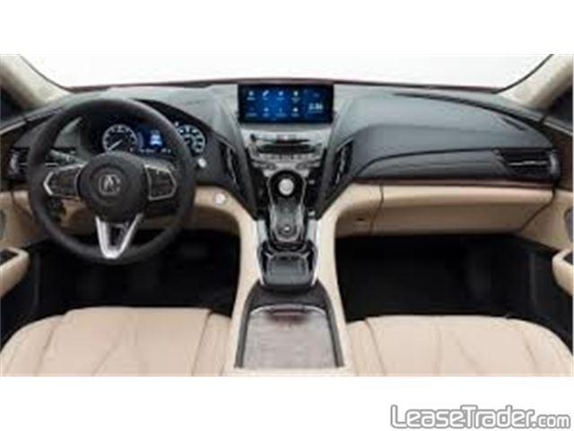 2020 Acura RDX Series RDX Standard Dashboard