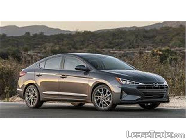 2020 Hyundai Elantra SE Side