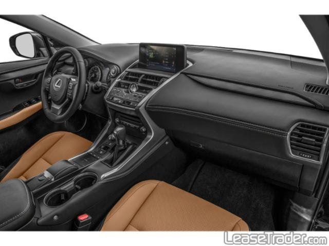 2020 Lexus NX 300 Dashboard