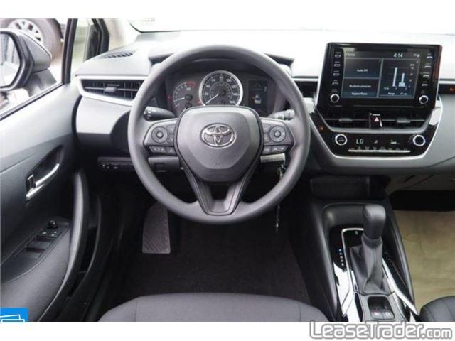 2020 Toyota Corolla LE Interior